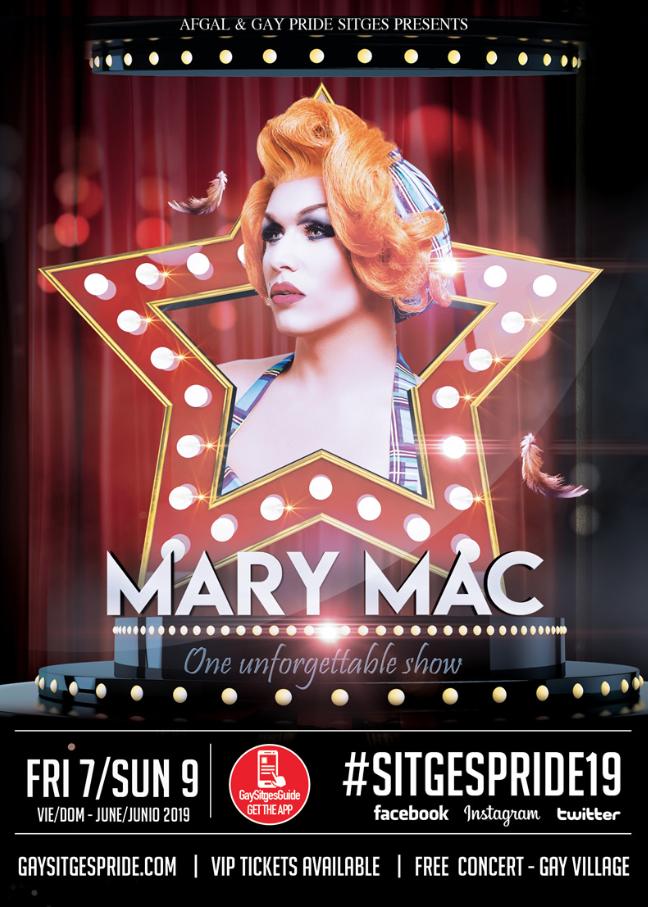 Mary Mac - Gay Pride Sitges 2019