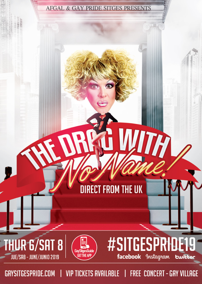 The Drag with no name - Gay Pride Sitges 2019