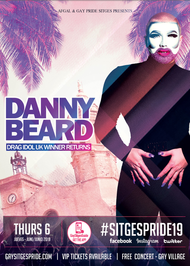 Danny Beard - Gay Pride Sitges 2019