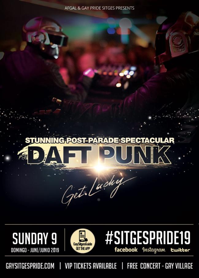 Daft Punk - Gay Pride Sitges 2019