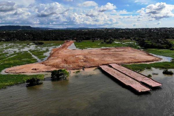 Ministério Público abre investigação sobre terminal de combustível no Lago do Maicá, terminal da Atem's no Lago do Maicá