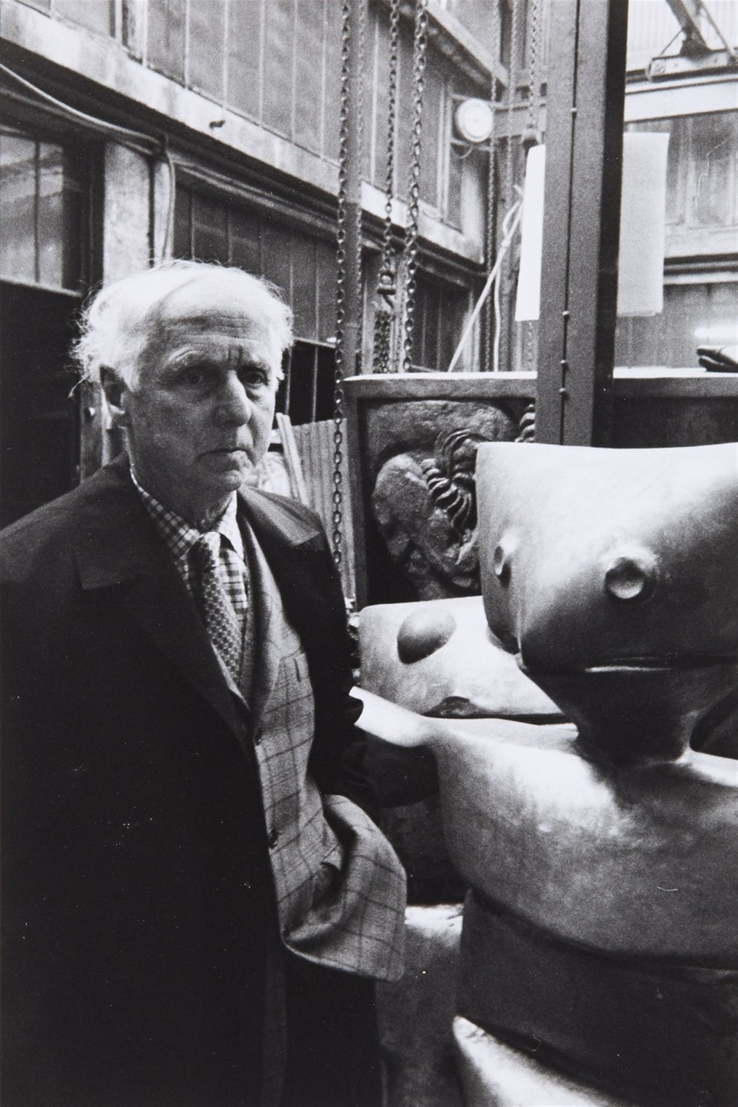 1968. Макс Эрнст (немецкий и французский художник, значимая фигура в мировом авангарде XX века), Париж