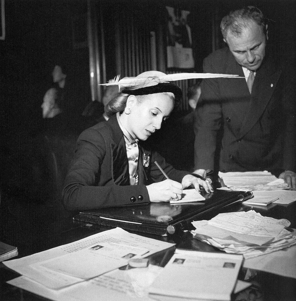1950. Эвита Перон