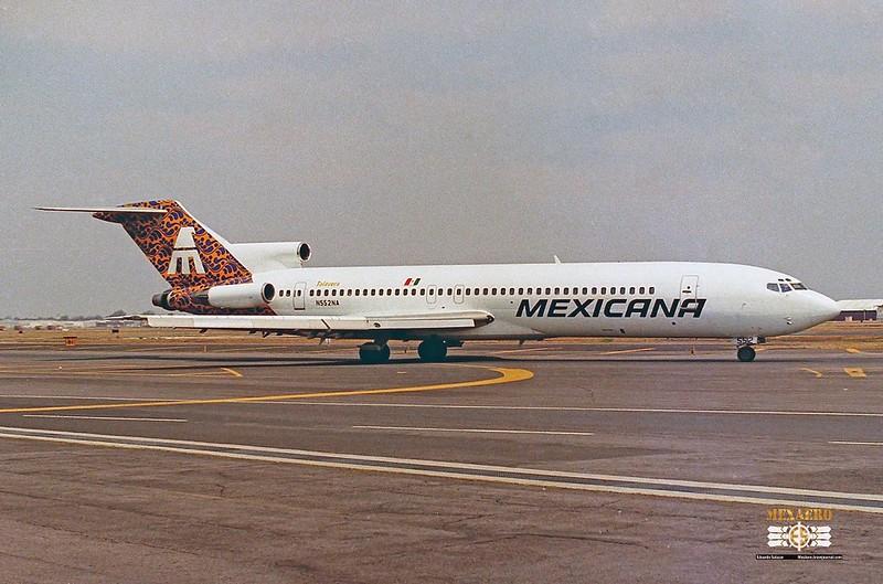 Mexicana / Boeing 727-2J7 (Adv.) / N552NA