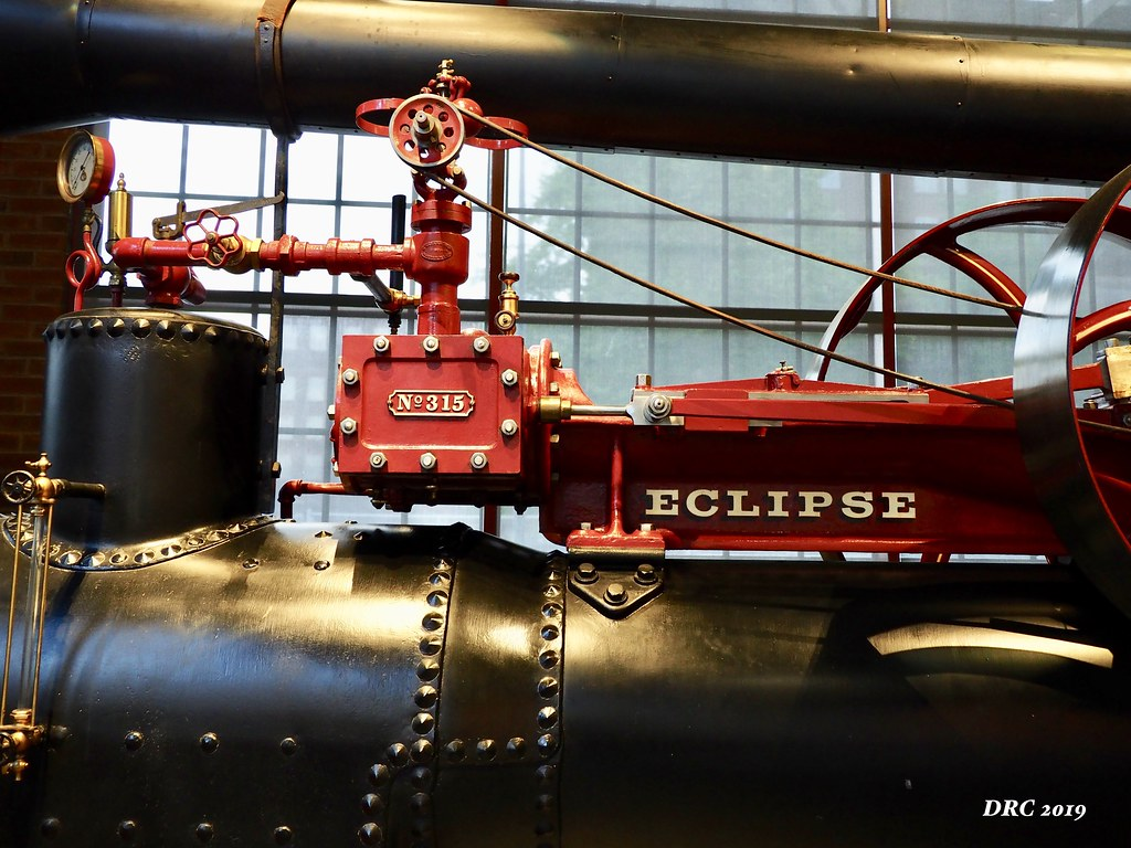 Eclipse Steam Tractor - National Museum of Industrial History
