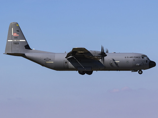 United States Air Force   Lockheed Martin C-130J-30 Hercules   07-8613