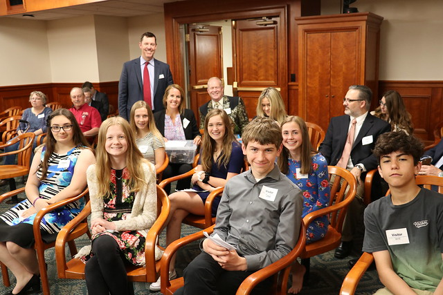2019 Waldon students testify to House