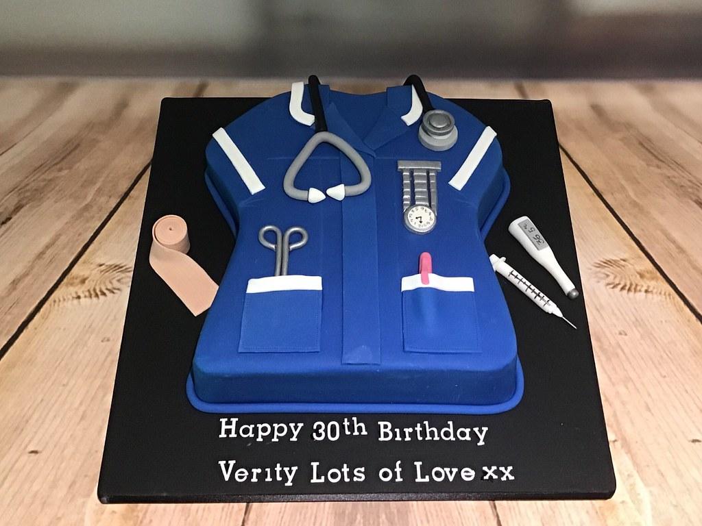 Nurse Uniform cake