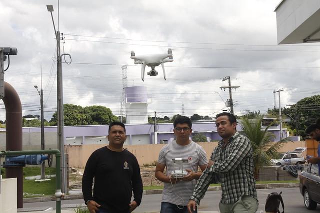 29.05.19 Vôo de drone para analisar a evolução da obra e o Plano 3D ageman