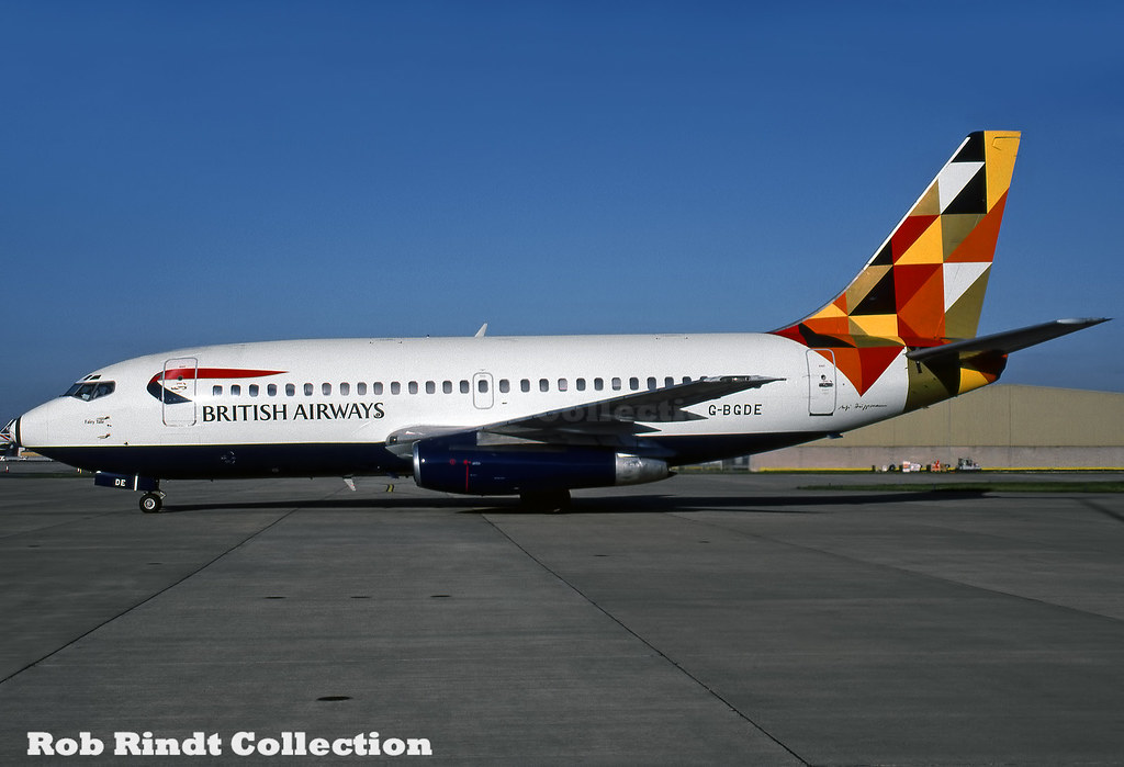 British Airways B737-236/Advanced G-BGDE