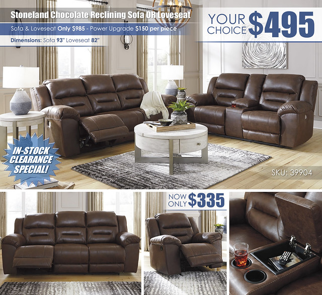 Stoneland Chocolate Reclining Sofa OR Loveseat_Layout_ALT_39904-87-96-T673