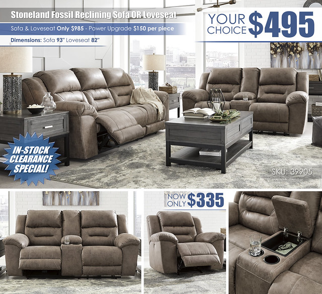 Stoneland Fossil Reclining Sofa OR Loveseat_Your Choice_Layout_ALT_39905