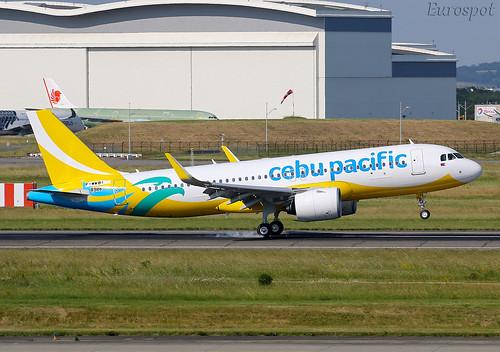 F-WWBI Airbus A320 Neo Cebu Pacific   by @Eurospot