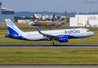 F-WWIN Airbus A320 Neo Indigo