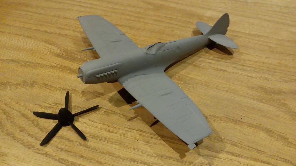 New tool Airfix 1/48 Spitfire FRXIV - Work in Progress - Aircraft