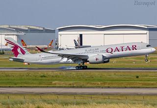 F-WWTW Airbus A350 Qatar