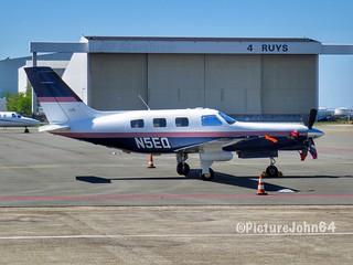 Brown Steven A Piper PA46 (N5EQ) at Schiphol Amsterdam