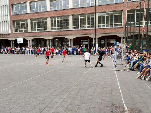 2018-2019 Voetbalwedstrijd Leerkrachten-Leerlingen
