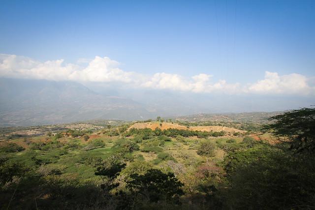 Camino Real. Barichara to Guane