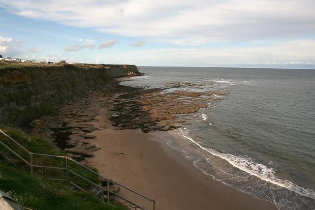 The beach at Hartley