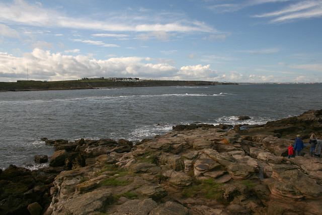 The Northumberland Coast from St Mary's Island, Whitley Bay