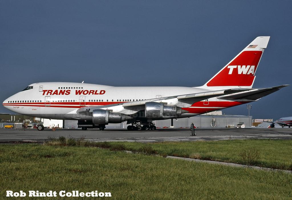TWA B747SP-31 N57203