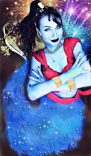 Disney Aladdin GENIE Cosplay
