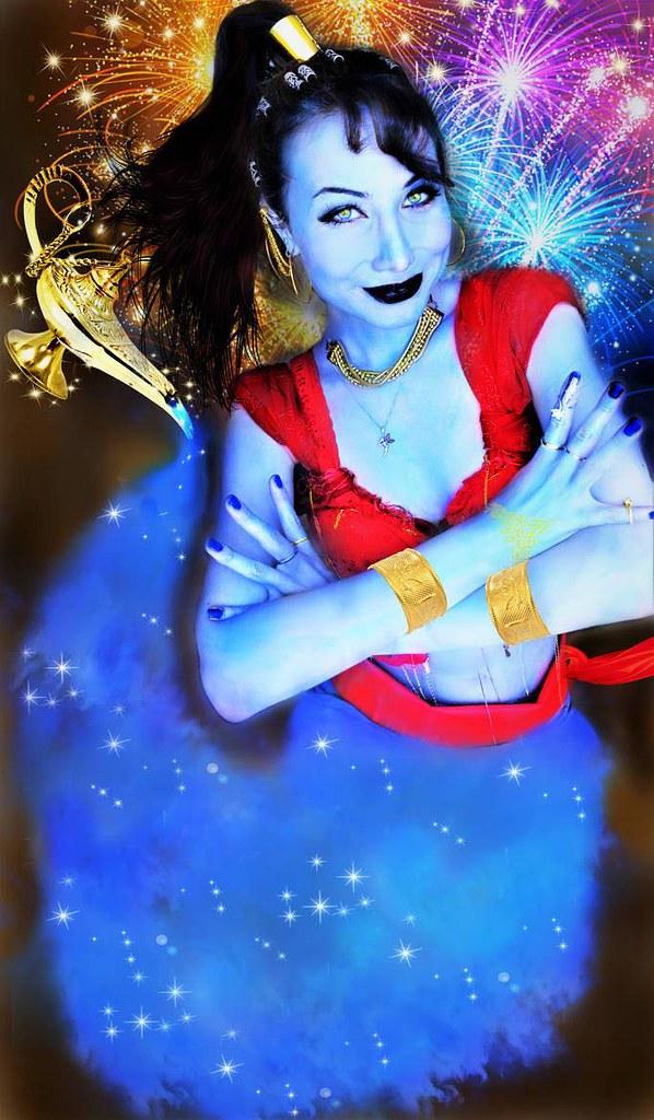 Genie Cosplay by Sarina Rose