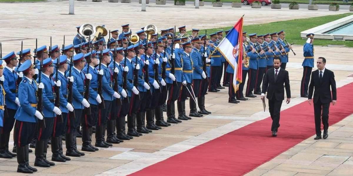Presidente de Serbia recibe cartas credenciales del nuevo embajador venezolano