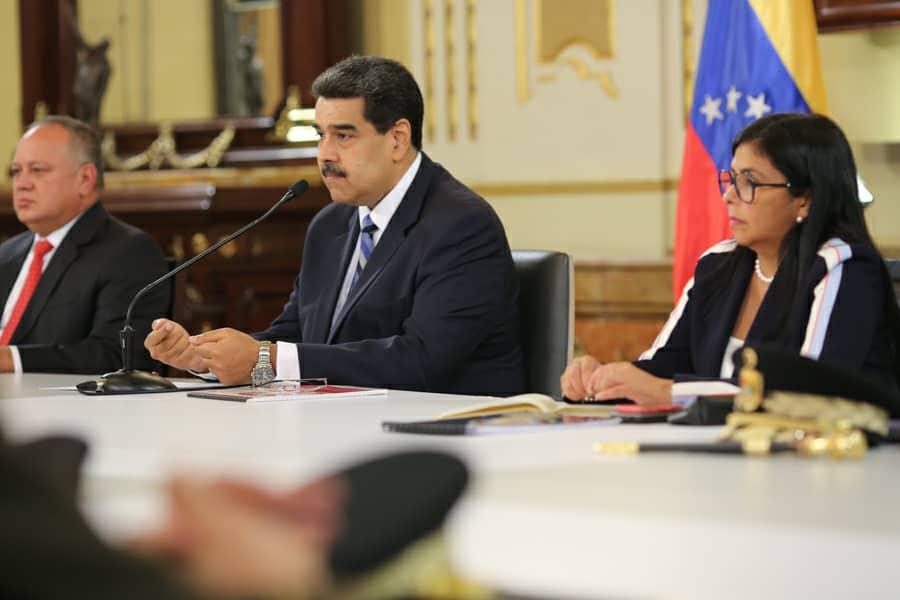 Presidente Maduro declara sesión permanente del Consejo de Defensa y Seguridad de la Nación