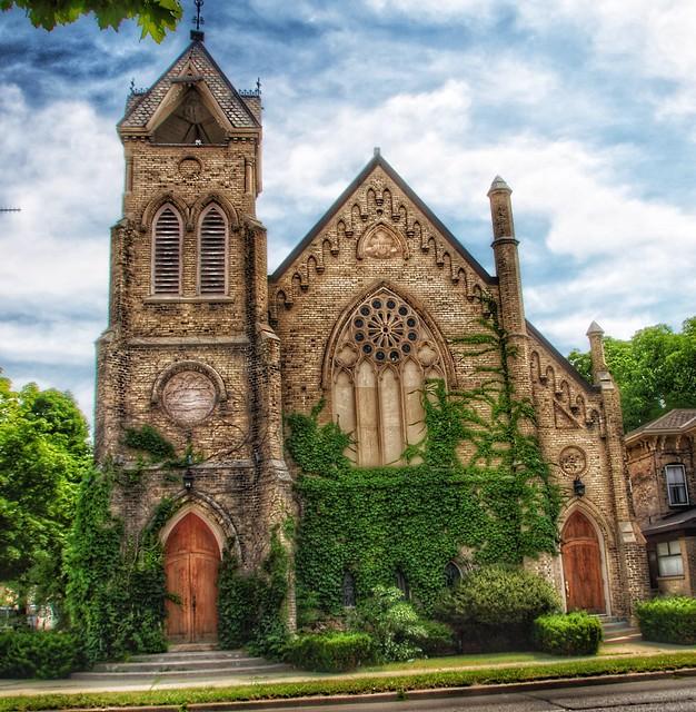 Brantford Ontario - Canada - Brant Avenue United Church - Heritage
