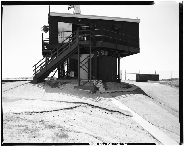 VIEW OF RADAR TOWER PLATFORM, LOOKING SOUTH Everett Weinreb