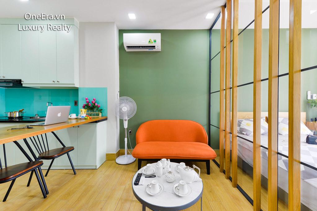Chụp ảnh nội thất căn hộ quận 1 cho thuê AirBnB 4