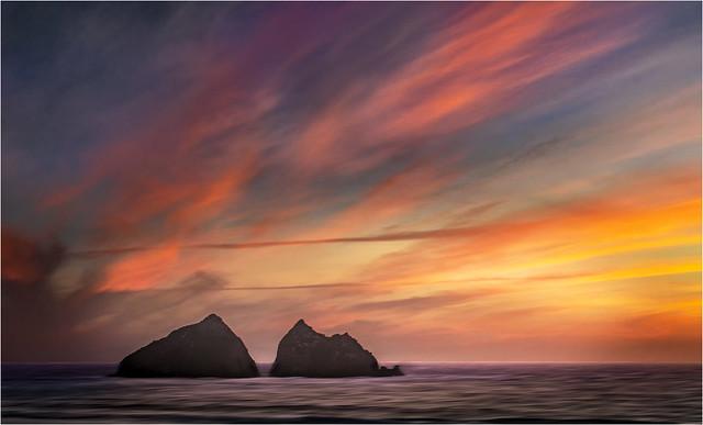 Holywell Sunset