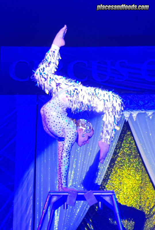circus on ice acrobatic