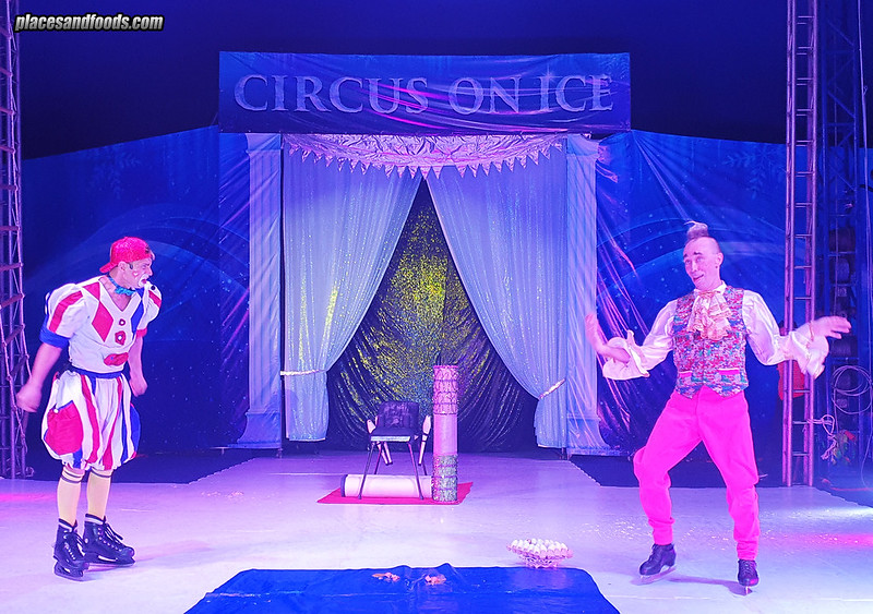 circus on ice clowns