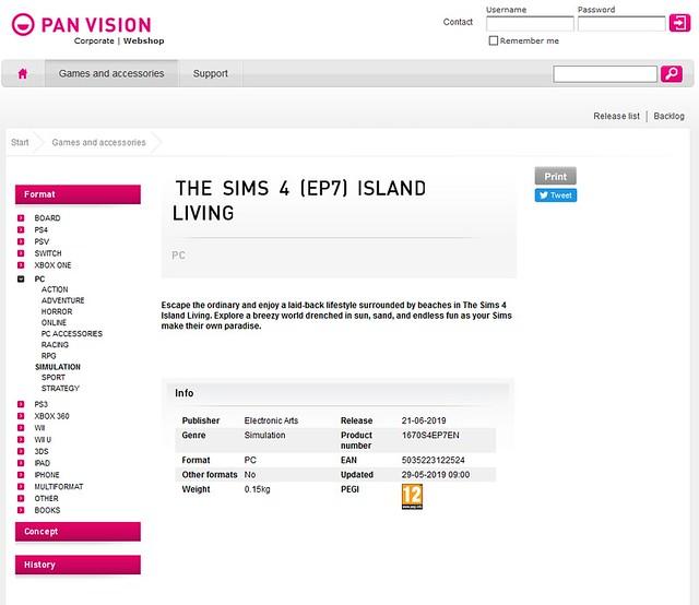RUMOR: The Sims 4 Vida na Ilha Está Chegando em 21 de Junho