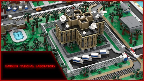 Stranger Things Hawkins National Laboratory