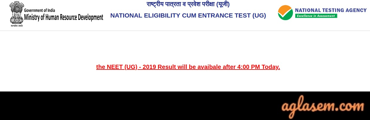 NEET Result 2019 Live Updates: Nalin Khandelwal Tops, Cutoff Marks Goes Up