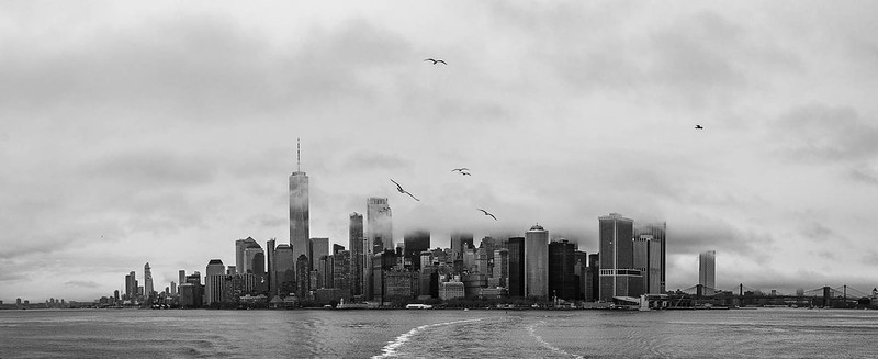 NYC en un día de mierda