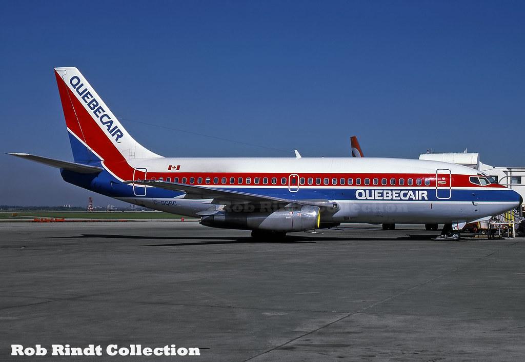 Quebecair B737-202C C-GQBC