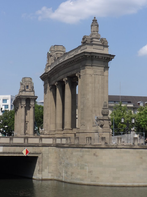 1907/08 Berlin Charlottenburger Tor von Bernhard Schaede Straße des 17. Juni/Salzufer in 10623 Charlottenburg