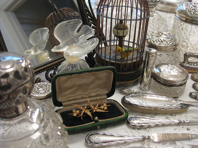 The Bird Lady's Dressing Table