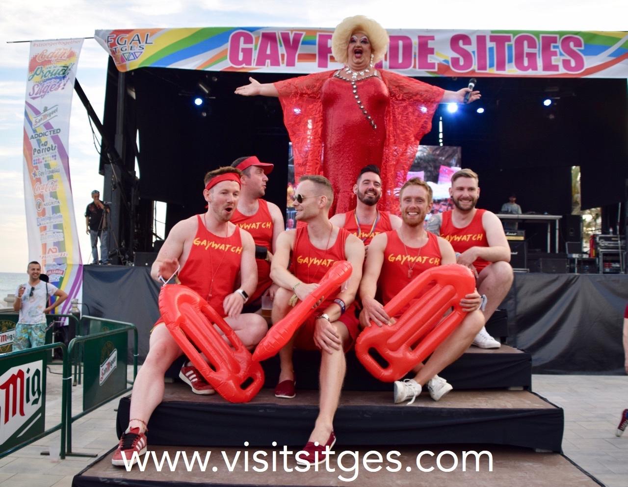 Gay Pride Sitges 2018 - Jueves