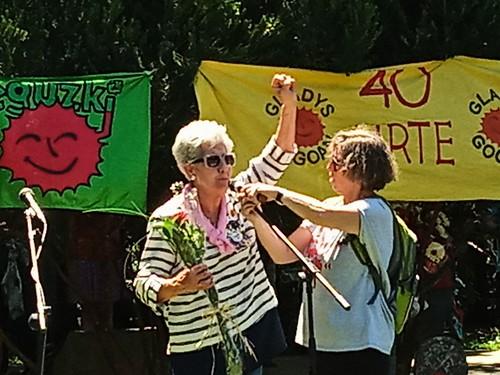 Homenaje a Gladys del Estal en Donostia