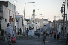Evening time in Adi Kaye, a college town in southern Eritrea. Credit: Milena Belloni/IPS