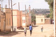 Children coming back from school in Asmara's periphery. Credit: Milena Belloni/IPS