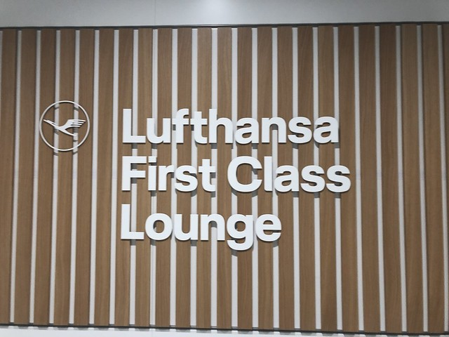 First class lounge lufhtansa Munich