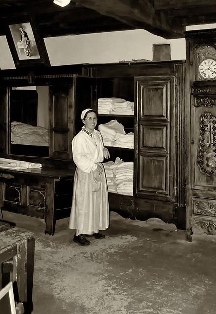 Le lit clos à Quistinic.