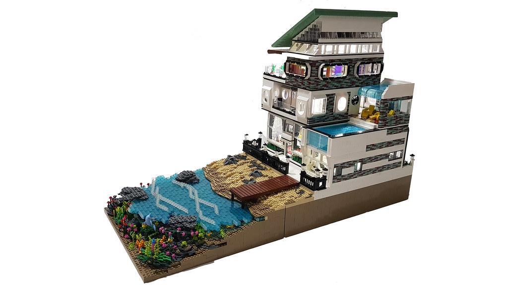 #legomoc #legobeach #legomodular #legobuilding #legobeachhouse #legoart #lego #amenksachio